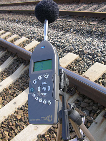 sound level measurement reading